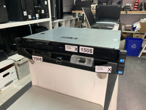 SERVEUR DELL POWEREDGE R220 E3-1220 V2 V3 8GB RAM 1U