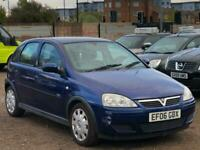 * 2006 VAUXHALL CORSA 1.4L 5 DOOR DESIGN + LONG MOT + HPI CLEAR *