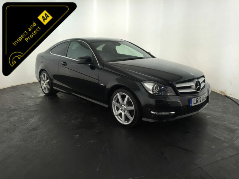 2012 mercedes benz c220 amg sport cdi diesel coupe 2 owners finance px in hinckley - Mercedes c220 coupe amg sport ...
