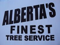 TREE SERVICE  REMOVALS & PRUNING (780) 421-8282