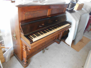 Antique French Parlour Piano
