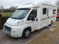 Bessacarr E560 Low Profile Fixed Rear Bed, Awning