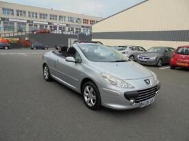 206 Peugeot 307 CC 2.0 16v ( 140bhp ) Coupe S Finance Available