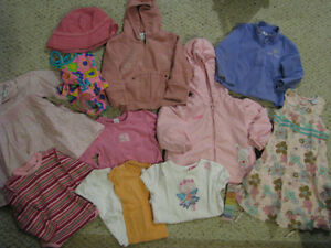 Girls lot - Size 12m - Size 2, Spring/Summer