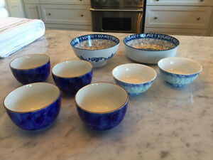 Vintage Asian Dinnerware