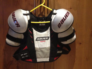 Bauer hockey protection pads
