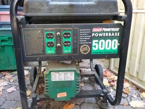 Coleman Powermate Portable Generator Kawartha Lakes Peterborough Area image 1