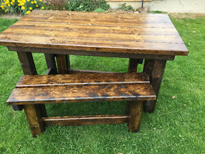 hand crafted softwood tables Stratford Kitchener Area image 7