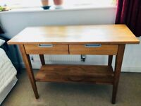 £40 Oak Console Table - Ikea