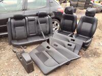 FORD MONDEO MK3 Ghia x black leather interior dvd screens headrests