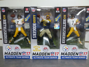 "McFarlane NFL Madden EA Series 2 Big Ben and Arron Rogers 6"" Fig"
