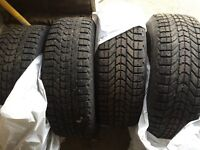 Winter Tires and Rims 215/65/R15