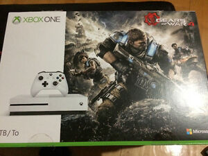 Xbox one 1TB/To Gears of war 4