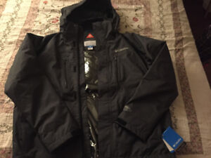 Brand new Columbia jacket with tags still on
