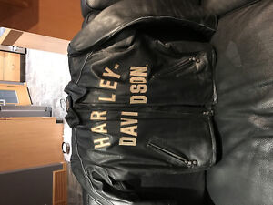 100th Anniversary Harley Davidson Leather Jacket Regina Regina Area image 2