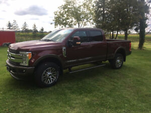 2017 F250 Super Duty King Ranch Pickup Truck
