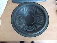 "Qty of 2 CS12 Woofers- 12"" , 4 ohm, Treated paper cone"