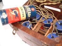 Vintage Unusual Medical Electric Device powered by Eveready No 6