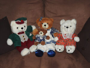 Vintage teddy bears - ALL only $15!