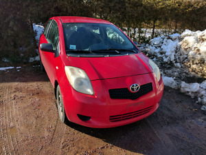 2007 Toyota Yaris as is