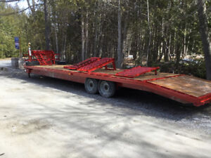 Float - Flatbed trailer used for sale