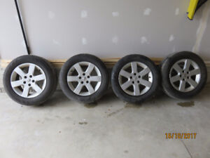 205/65/R16  all season tires on Nissan Aluminum Rims