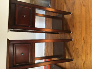 ****small bedside tables - $25 each