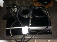 PlayStation 3,40GB,with all leads+HDMI cable
