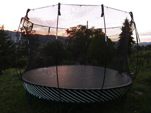 12-foot Springfree Trampoline -- need to trade for smaller model