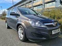 2013 Vauxhall Zafira Exclusiv 1.7 Cdti Ecoflex Diesel 7 Seater 1.7