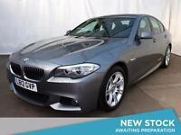 2012 BMW 5 SERIES 520d M Sport 4dr [Business Media]