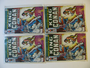 King Conan comic #1 - 4 copies available