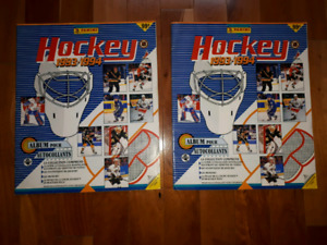 Albums ďautocollants nhl hockey 1993-1994 panini