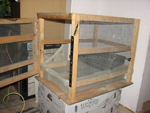 Larger - Solidly-Constructed Homemade Pet Cage