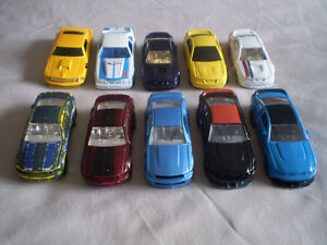 HOT WHEELS FORD MUSTANG'S