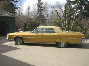 1974 GOLDEN LINCOLN--FOR SALE BY ORIGINAL OWNER