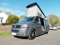 VW T5 - TR-Sporter - 2010 - Professional Conversion - Pop Top Bed Roof