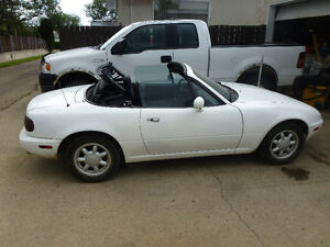 1991 Mazda MX-5 Miata Convertible, Base model, 101,156 kms