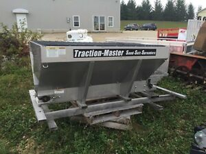 Stanless traction master 6' foot sander salter for a truck