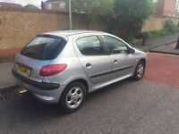 Peugeot 206 52 plate automatic