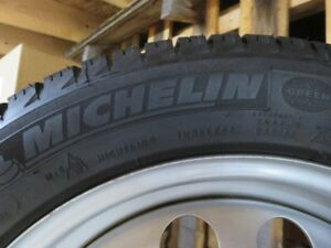 BMW 3 Series  Michelin Winter Tires (X-Ice) on rims for sale!