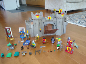 Playmobile Chateau avec chevaliers