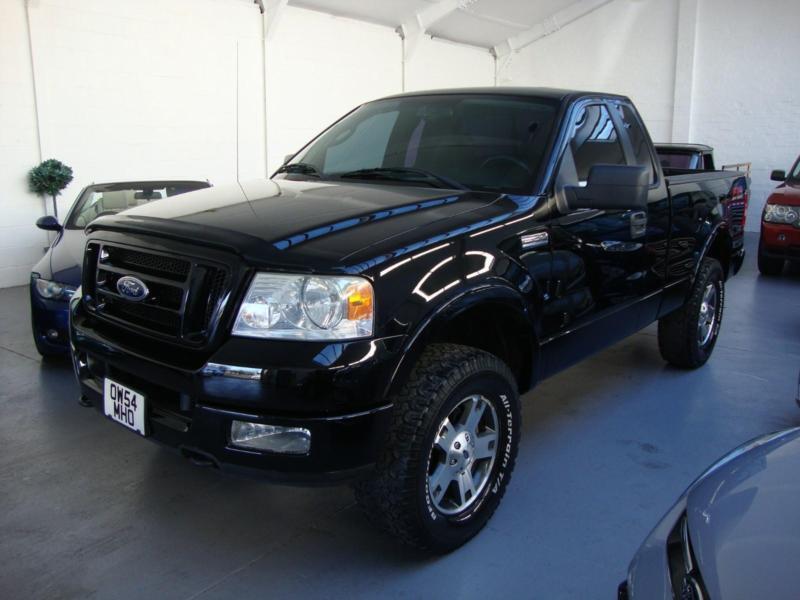 Ford F150 54 Triton Fx4 4x4 American Pick Up 04 54 Big Black And