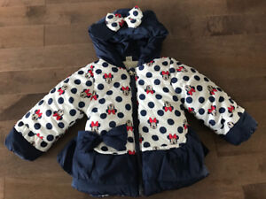 Minnie Mouse toddler winter coat