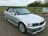 03 BMW 325i 2.5 auto Ci Sport Cabriolet, FSH, Leather, M sport wheels