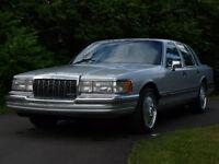 1990 Lincoln Town Car DUB Bellagio Spinner Rims