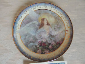 REDUCED BRADFORD ANGEL COLLECTOR PLATES Peterborough Peterborough Area image 2