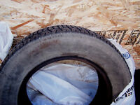 4 Studded Cooper Winter Master Plus Tires