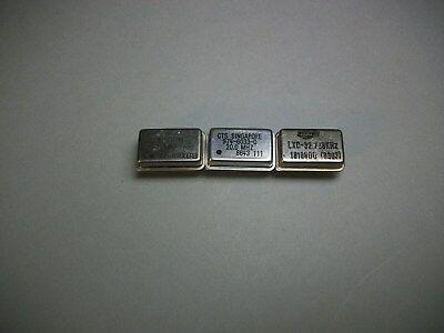 29 Thru-Hole Oscillators Electronics Microwave HAM Radio Statek,CTS,Kyocera NOS Kyocera Radio