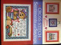 Cross stitch book